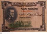 100 PESETAS 1925 FELIPE II