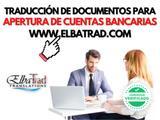 TraducciÓn de expedientes bancarios - foto
