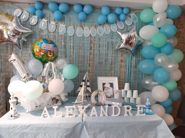 Decoracion de fiestas arreglos globos - foto 1