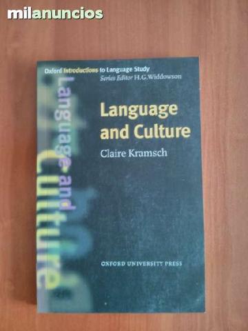 kramsch, claire, Language and culture - foto 1