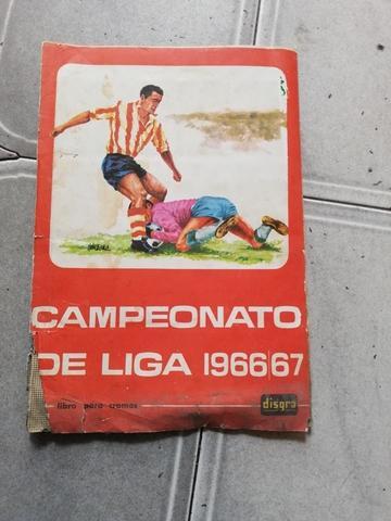 cromos campeonato del liga  1966-1967 - foto 1