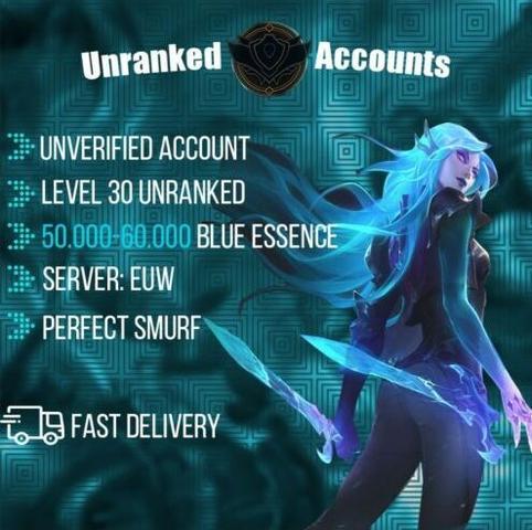 Cuentas unranked smurf nivel30, 50.000ea - foto 1