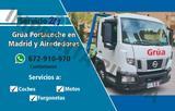 Servicio de Grua porta coche eco Madrid - foto