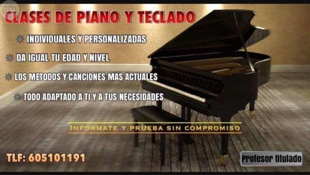 Clases de piano (Online) - foto 1