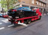 Grua trasporte de coche y moto.....  - foto