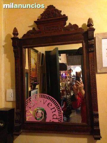 Se vende espejo antiguo. - foto 1