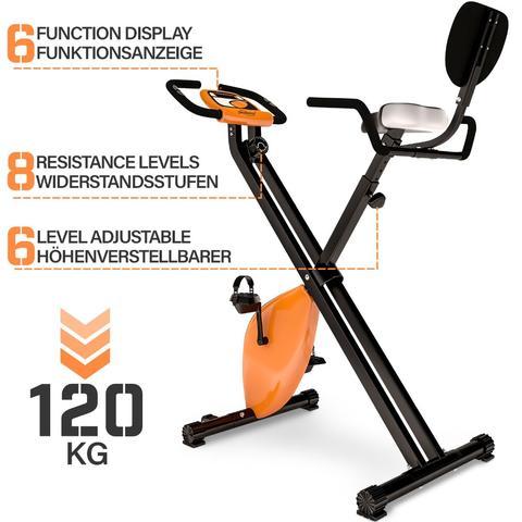 bicicleta estatica sensores pulso y LCD - foto 1