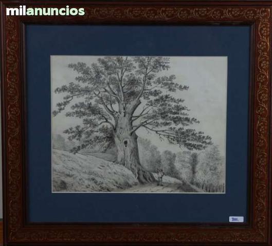Vicente poveda - Árbol y campesino - foto 1