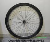 RUEDA DELANTERA-WTB:26X49/52