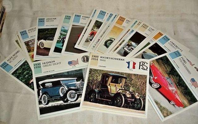 60 fichas autos de colecciÓn - foto 1