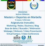 MáSTERES Y DEPORTES EN MARBELLA