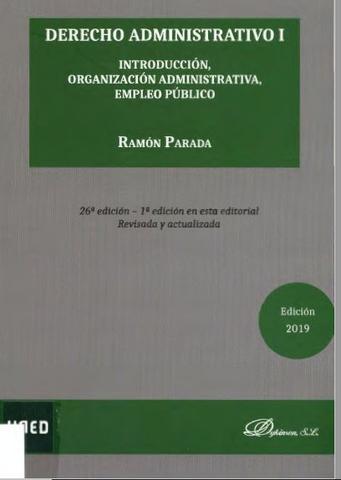 Derecho ADMINISTRATIVO 1 - PDFs de UNED - foto 1