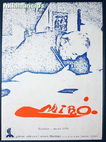 Joan mirÓ galerie Éditions carmen mrtnez - foto 1