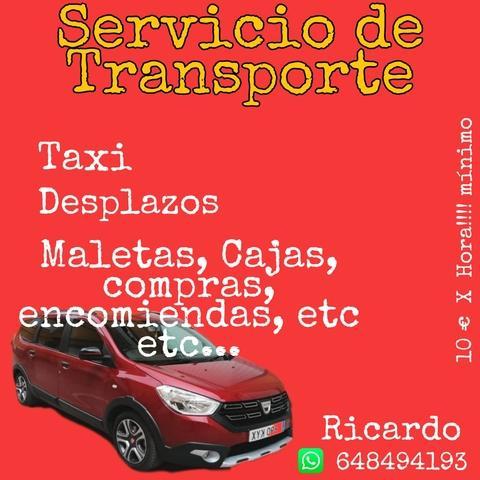 Servicio de transporte, taxi - foto 1