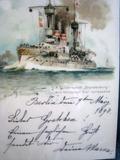 CUADRO DE COMPOSICIóN DE POSTALES 1898