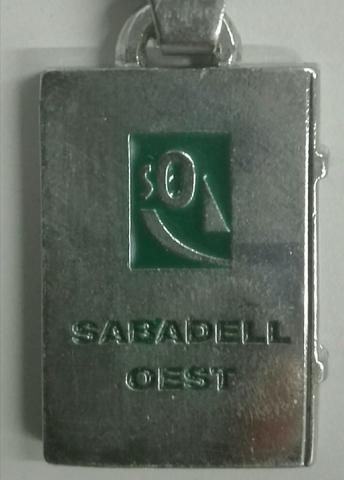 Llavero «Sabadell Oest». - foto 1