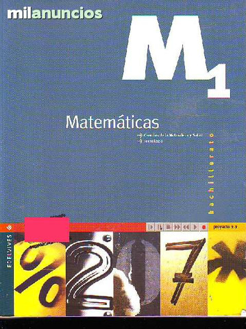 MatemÁticas ciencias de la naturaleza y - foto 1