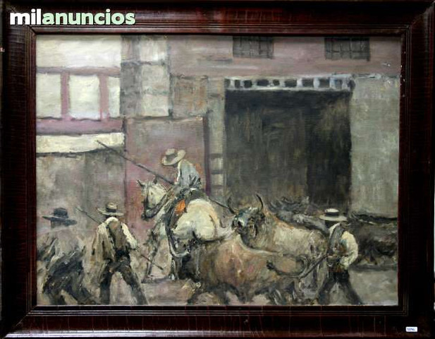 Pintura de anÓnimo - rejoneadores - foto 1
