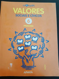 LIBRO VALORES 6º PRIMARIA