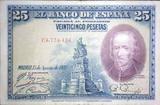 25 PESETAS 1928