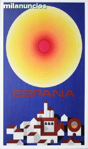 Cartel turismo - espaÑa, colorida - foto 1