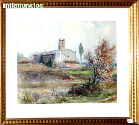 Paisaje con iglesia de pau sabatÉ jaumÁ - foto 1