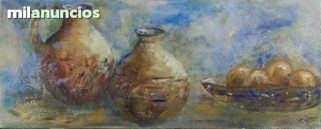Pintura de fe barrau moreno ( bodegÓn ) - foto 1