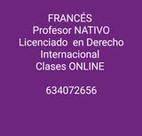 PROFESOR DE FRANCéS E INGLéS