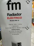 RADIADOR ELéCTRICO 7 ELEMENTOS