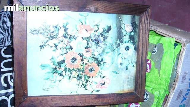 precioso cuadro jarra de flores - foto 1