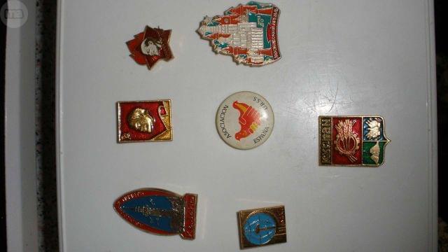 Pin de la antigua URSS - foto 1