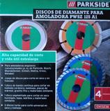 DISCOS DIAMANTE AMOLADORA PWSZ 125 A1