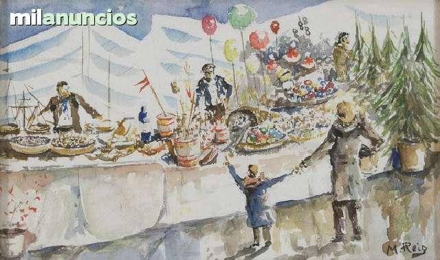 Cuadro de manuel reig, fiesta cumpleaÑos - foto 1