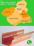 Montaje Canalon aluminio REGIÓN Murcia - foto