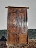 Puerta de madera - foto