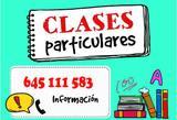 CLASES PARTICULARES EN ANDúJAR
