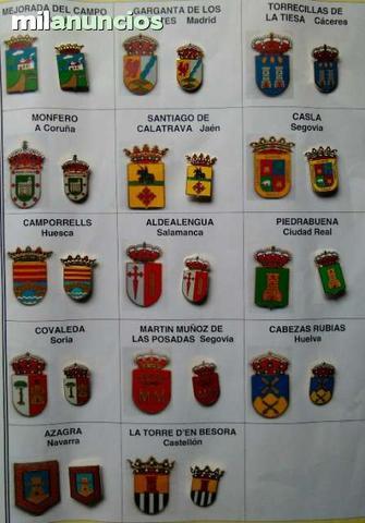 Pins insignias heraldicas municipios - foto 1