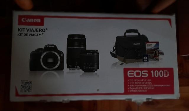 Se vende 'Kit viajero' CANON EOS 100D. - foto 1