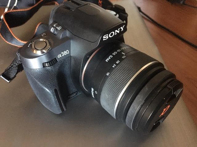 Vendo camara reflex digital sony a380 - foto 1