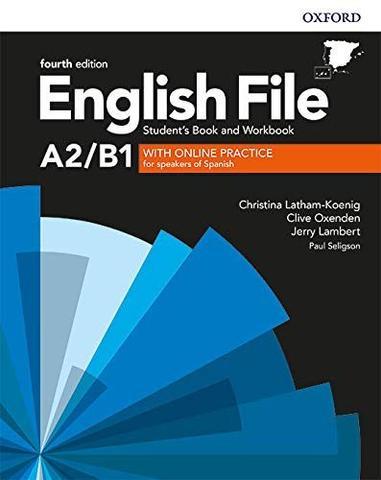 A2.B1 ENGLISH FILE 4TH EDITION OXFORD - foto 1