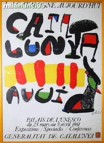 J.mirÓ, la catalogne, palais de l unesco - foto 1