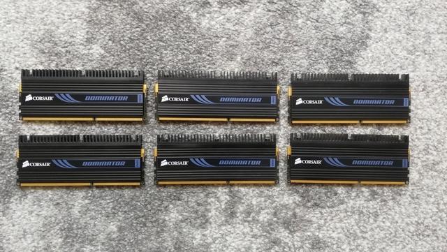 Corsair DDR3 6GB 1600MHZ por 6 modulos - foto 1