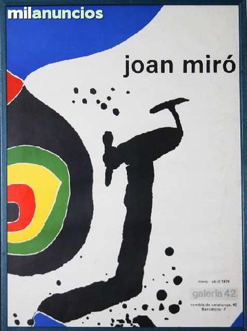 Cartel de joan mirÓ - galeria 42 - foto 1