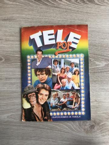 Álbum tele pop colecciÓn cromos - foto 1