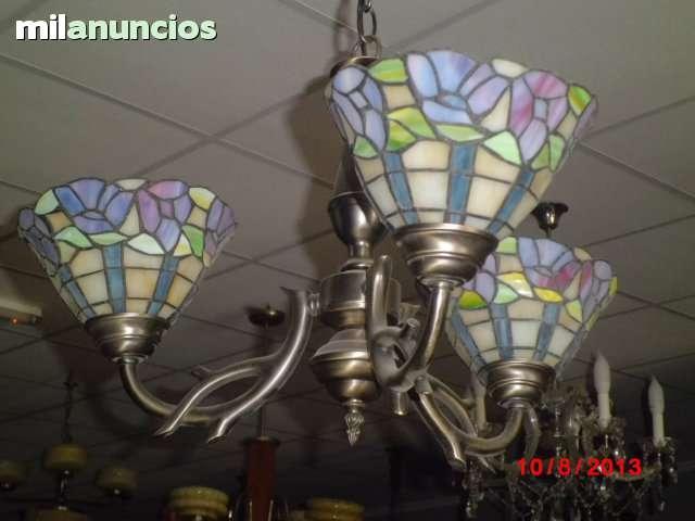 Lámpara de estilo tiffany - foto 1