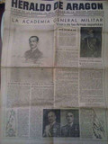 DIARIO HERALDO DE ARAGóN ZARAGOZA 1948