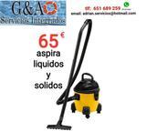 ASPIRADORA DE LíQUIDOS (AGUA) Y SOLIDO.