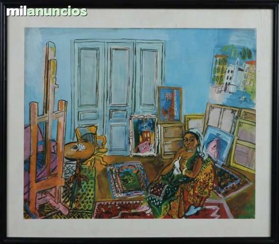 Raoul Dufy - interior de habitaciÓn - foto 1