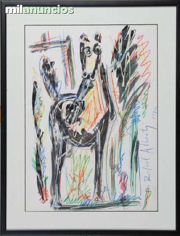 Cuadro de rafael alberti - caballo - foto 1