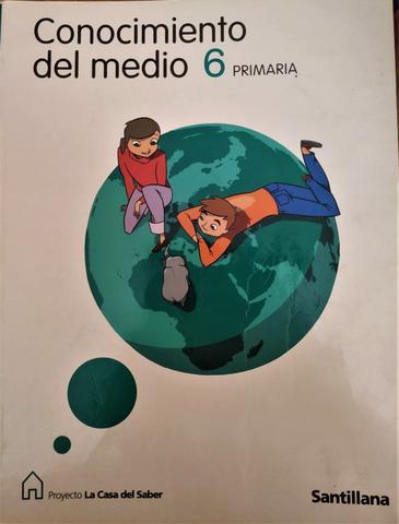 Libro Conocimiento del Medio 6 primaria - foto 1